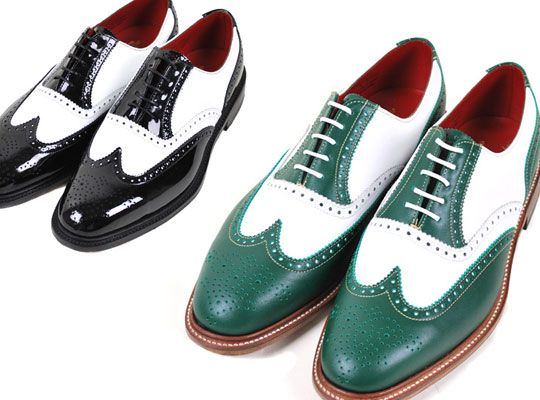 Wacko Maria x Alfred Sargent Wing Tip Shoes | Highsnobiety