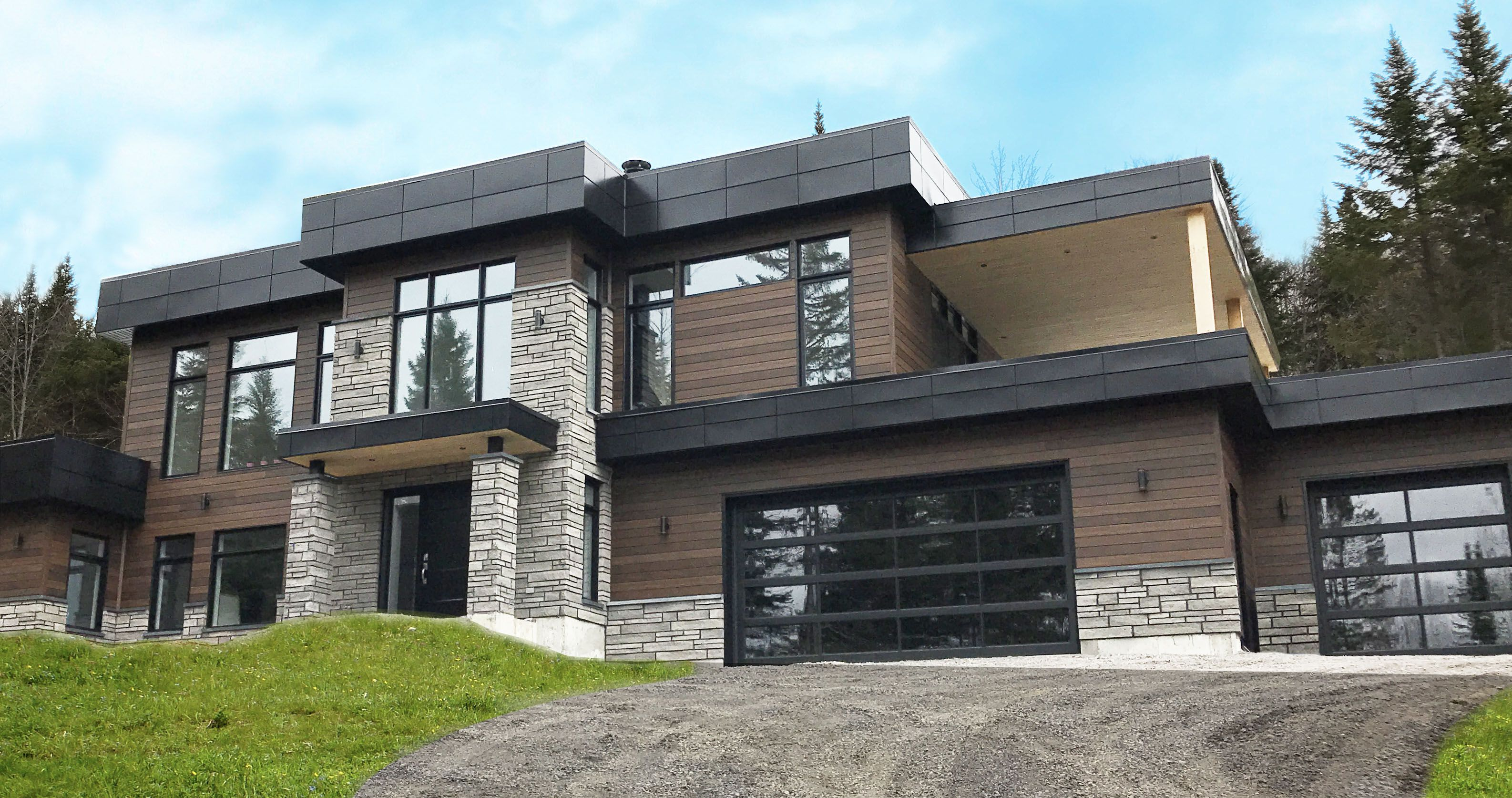 7 Popular Siding Materials To Consider: Create That Modern Look With Distinction Wood Grain Steel