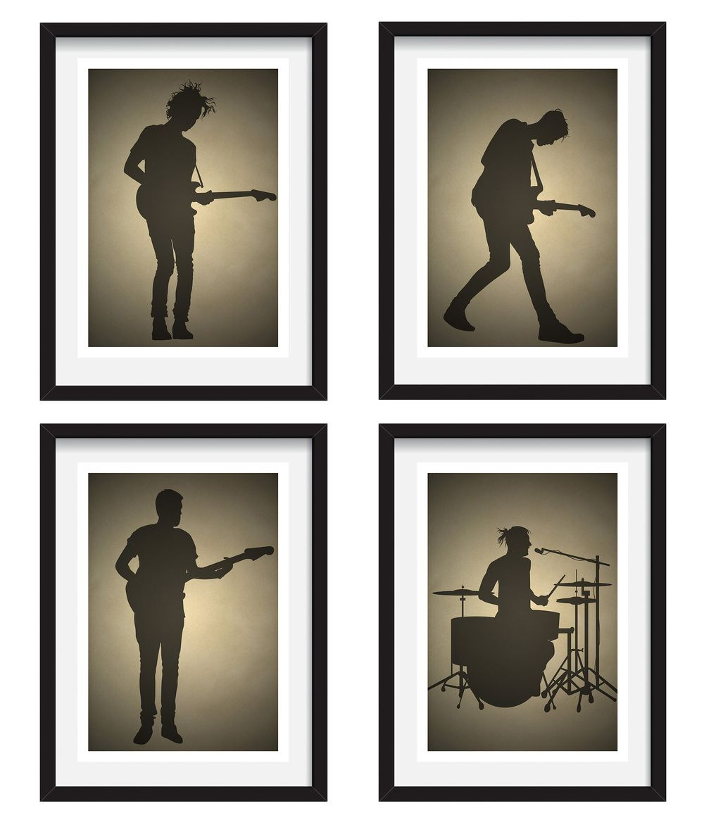 1162D New Matt Healy The 1975 Rock Music Band Star-Print Art Silk Poster
