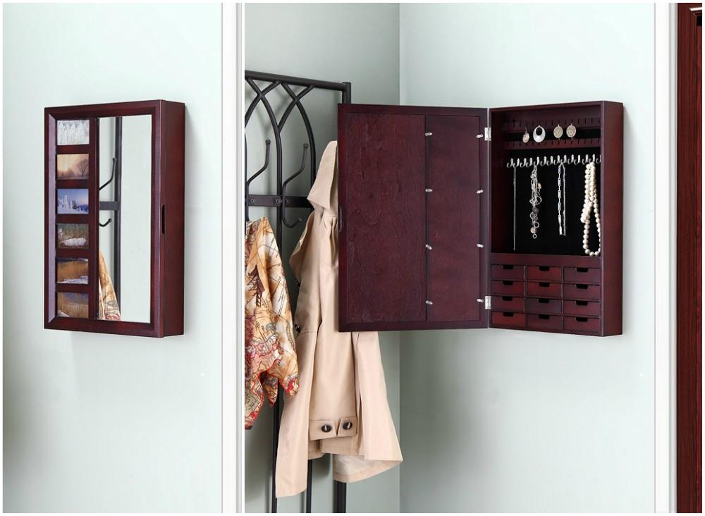 The 15 Best Wall Jewelry Boxes Zen Merchandiser Jewelry Wall Cool Walls Jewelry Box Mirror