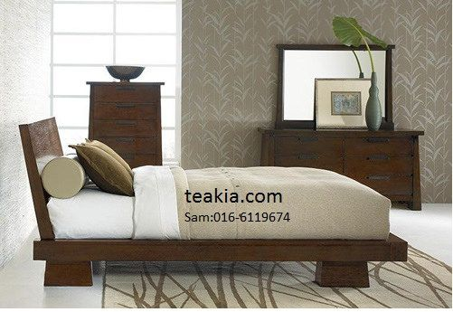 Bedroom Furniture Malaysia japanese bed frame-teak wood furniture malaysia-indoor furniture