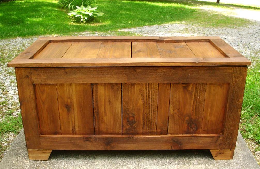 Rustic Reclaimed Cedar toy box, blanket chest, coffee