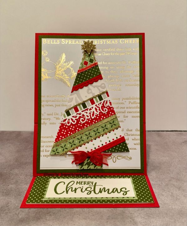 Christmas Card Making Challenge ~ Day 9