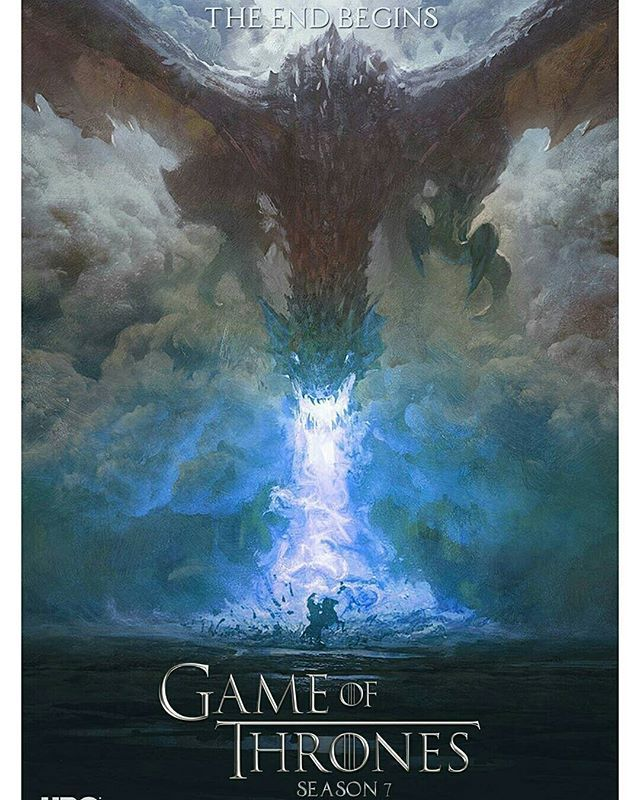 Another Fan Made Poster For Season 7 Game Of Thrones Game Of