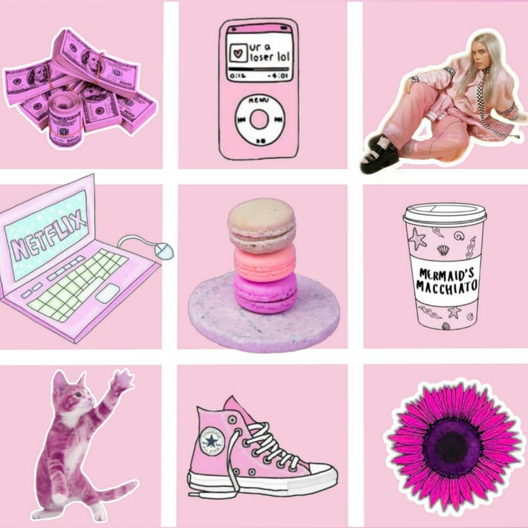 Sht I like but in pink picsart madewithpicsart collage