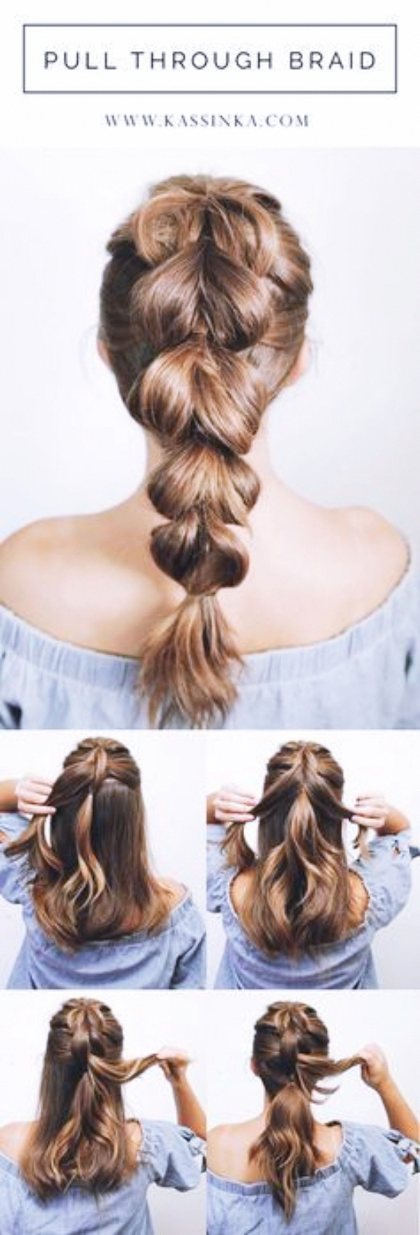 45 Quick and Easy Updo Tutorials for Medium Hair #updotutorial