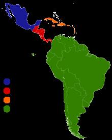 Latin America Wikipedia The Free Encyclopedia Latin America History Latin America Latin American