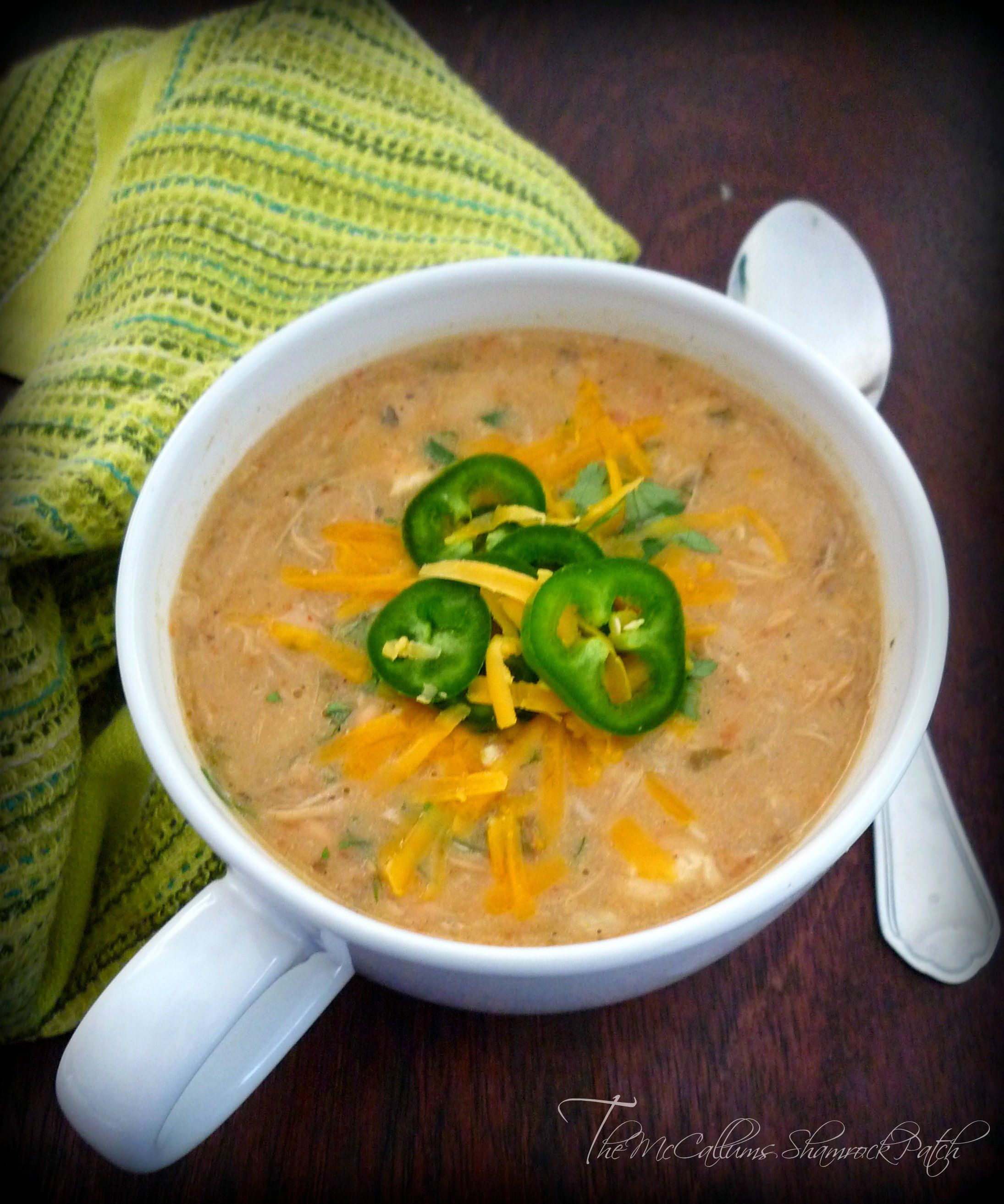Pureed White Bean Chicken Soup