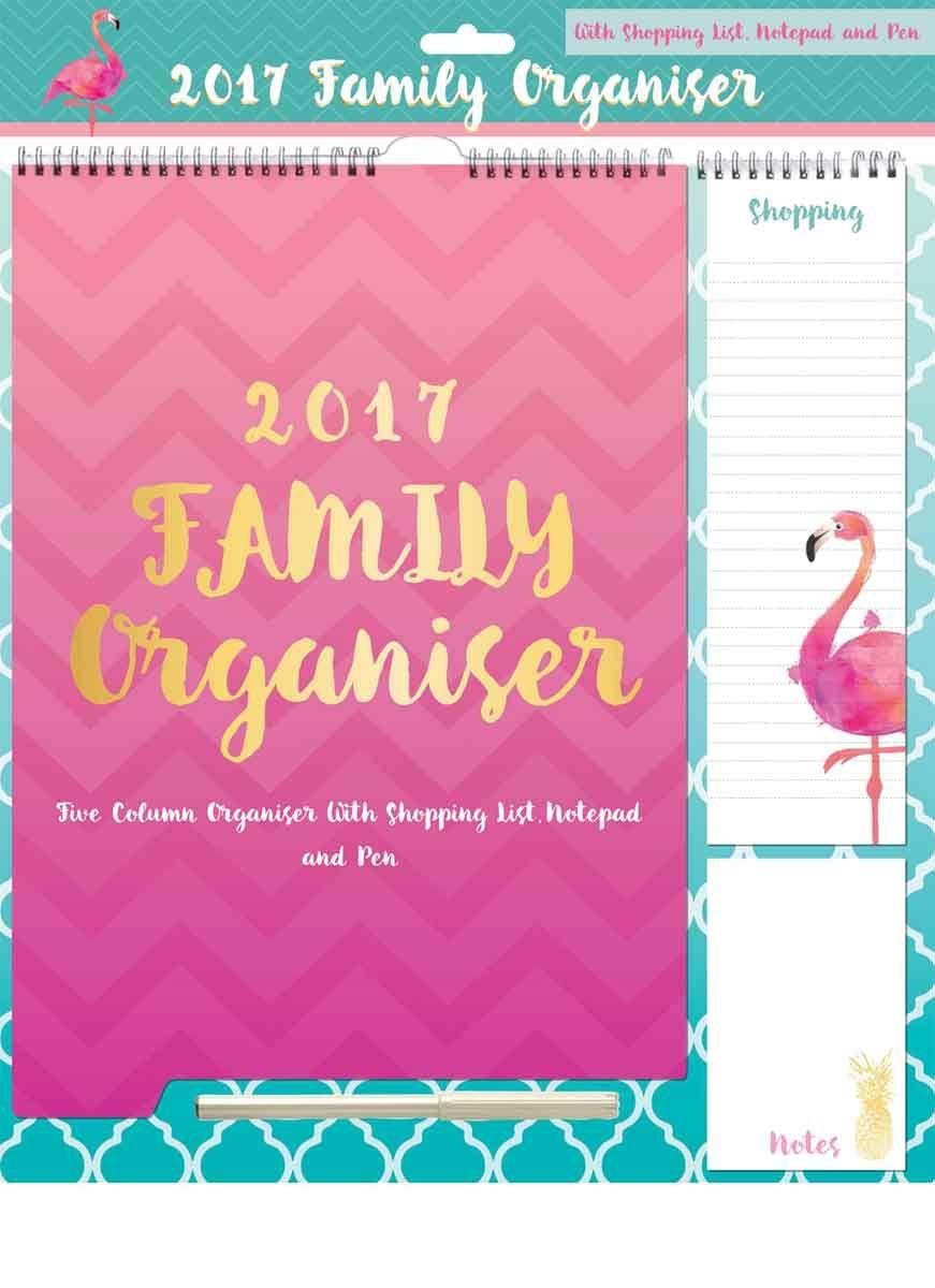 trendy tropics family planner 2017 2017 calendars pinterest