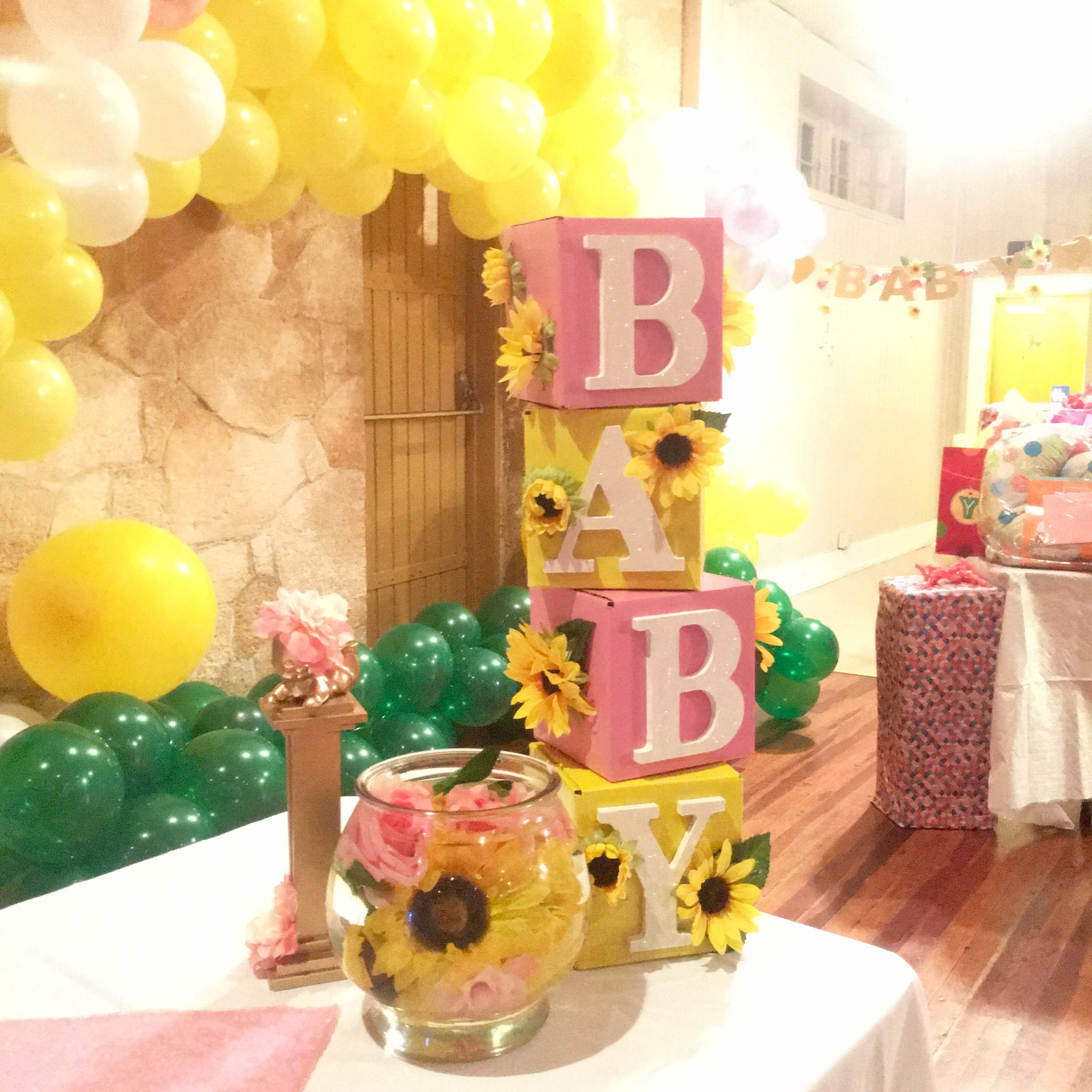 Idea By B Wiley On Baby Shower In 2020 Baby Shower Yellow Baby