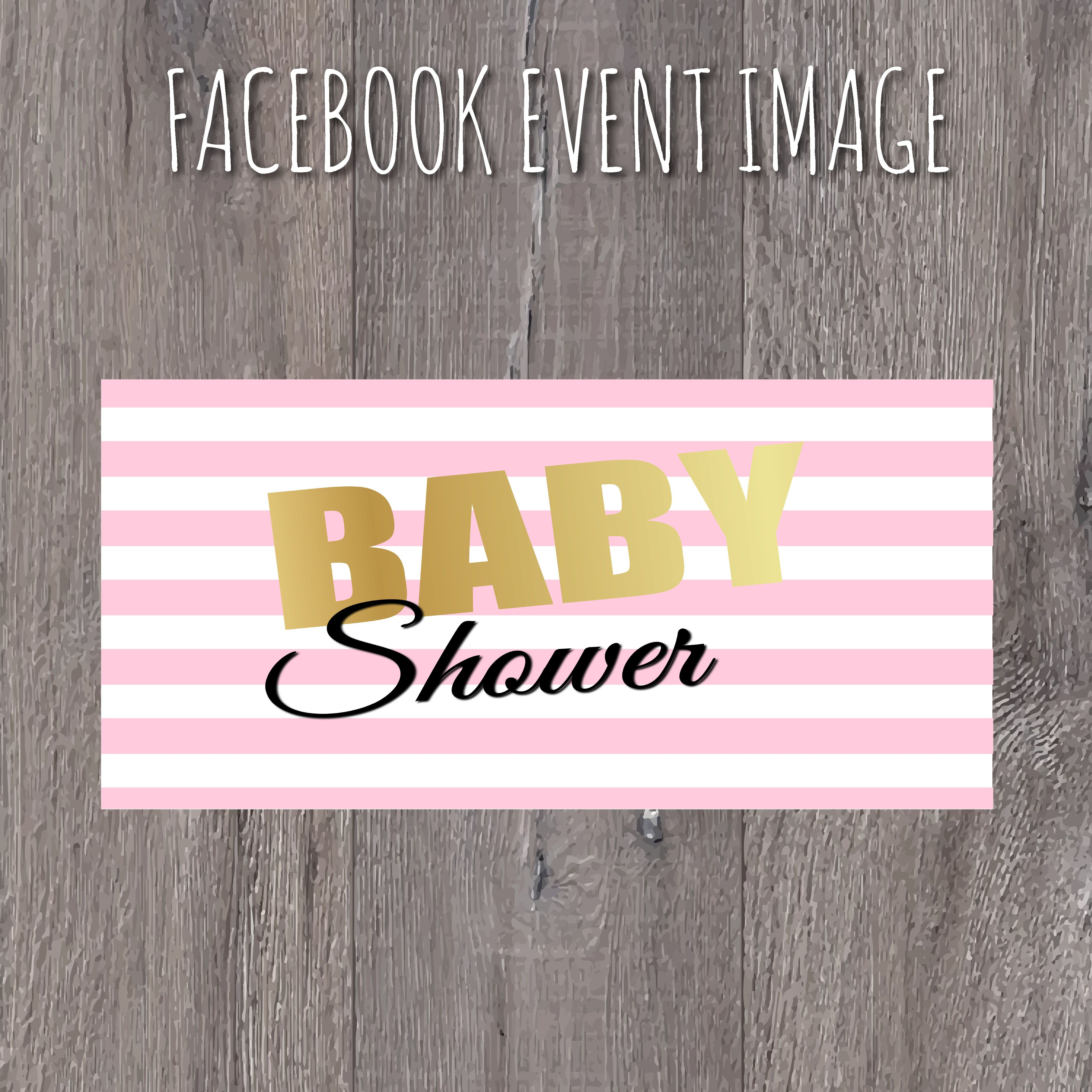 baby shower facebook event image it s a girl baby girl baby baby