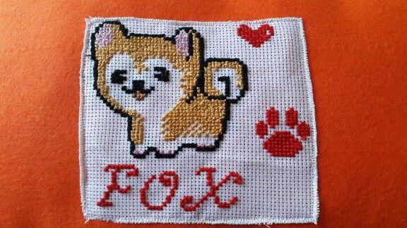 Shiba Inu for my puppy Fox ! #shiba #stitch #puppy