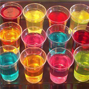 Coloured Jellies