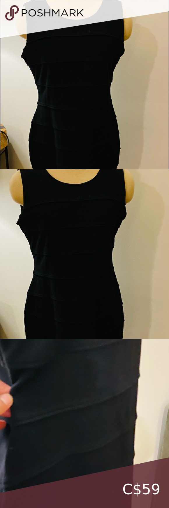 Calvin Klein Perfect Little Black Dress Perfect Little Black Dress Little Black Dress Calvin Klein Black Dress