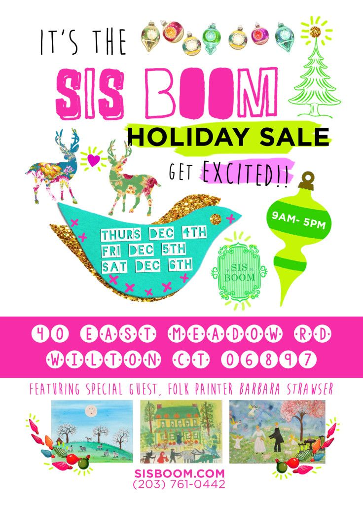 sis boom holiday card 2014 bird