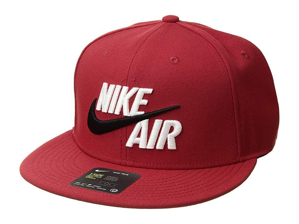 big sale 20529 1f4d8 Nike Air True - EOS (Varsity Red White) Caps. Accent your athletic