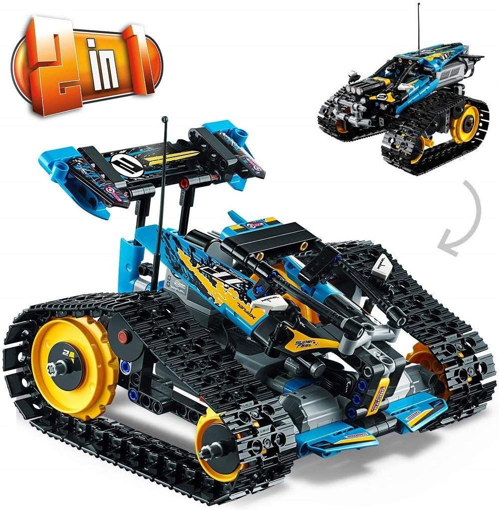 LEGO Technic 42095 Ferngesteuerter Stunt Racer, bunt: Amazon