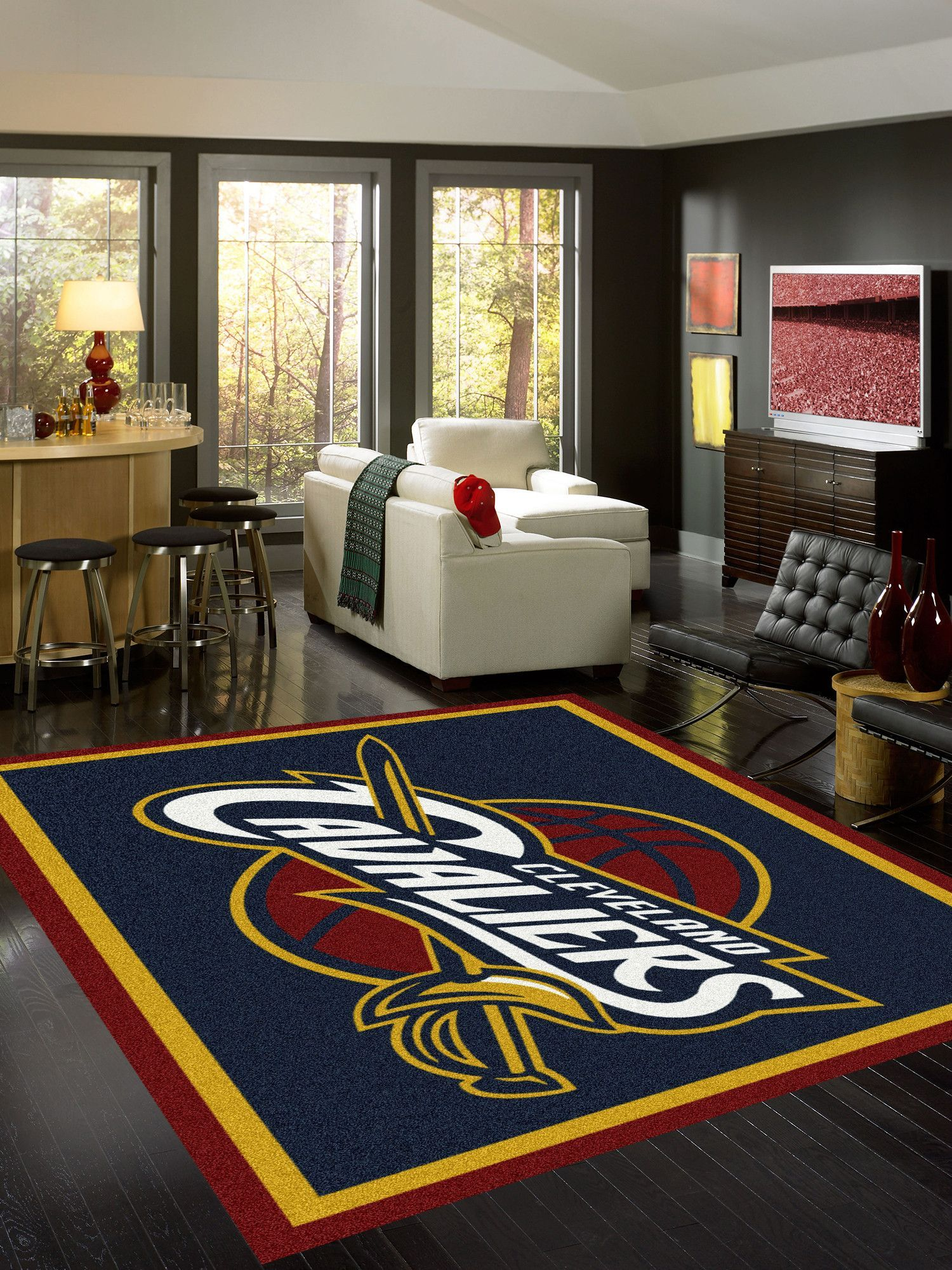 Cleveland Cavaliers Area Rug Products Pinterest