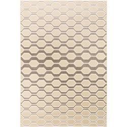 Photo of benuta Trends short pile carpet Diamond Beige / Brown 160×230 cm – Modern carpet for living room