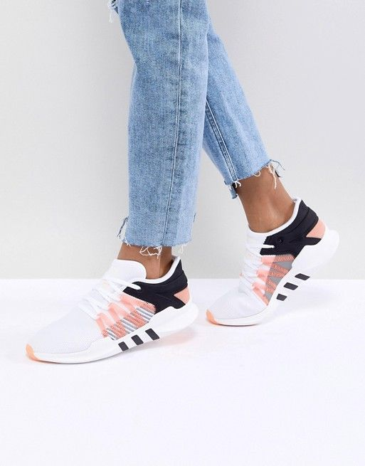 6ea736dfa0aa adidas Originals EQT Racing Adv Sneakers In White in 2019