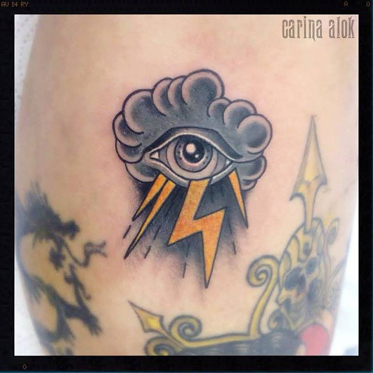 Eye In The Storm Tattoo Original Dragão Tattoo Studio Savassi Bh