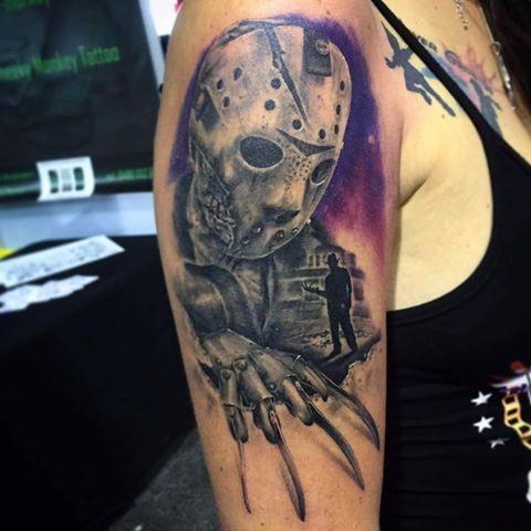 By Nicomariani Tattoo Horror Tattoo Movie Tattoos Cool Tattoos