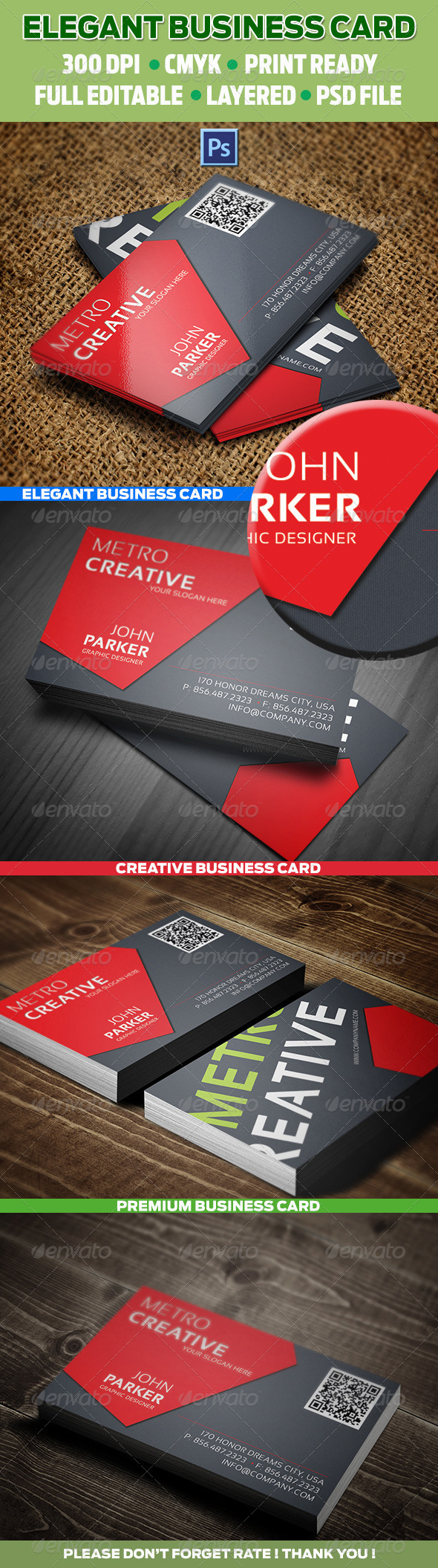 Creative business cards 19 graphicriver 3520 375 x 225 buy creative business cards 19 by reddes on graphicriver x with bleed settings 300 dpi cmyk print ready full editable layered free font http reheart Images