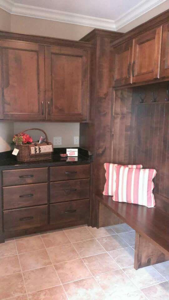 Drop zone | Home decor, Kitchen cabinets