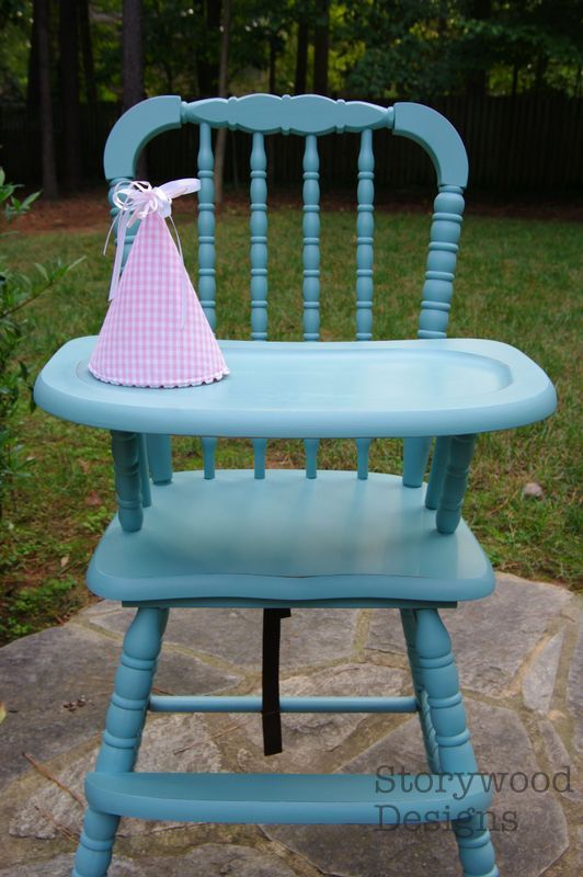 the good life blog how to paint seal a wooden high chair