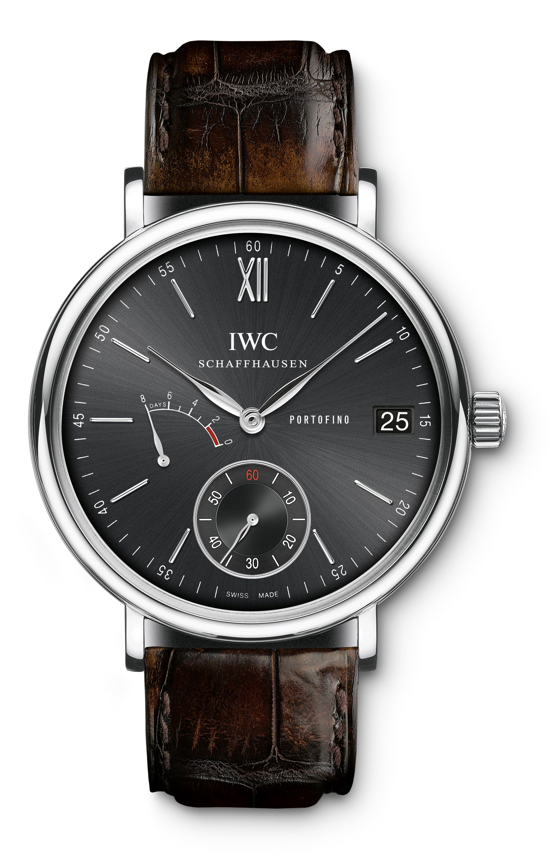 c5077424ebe IWC Portofino 8 Days Black Face ..Can t decide between this or the white  face