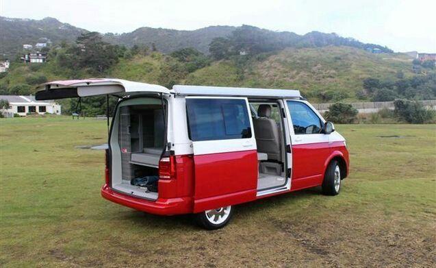 volkswagen t6 california ocean red vw t6. Black Bedroom Furniture Sets. Home Design Ideas