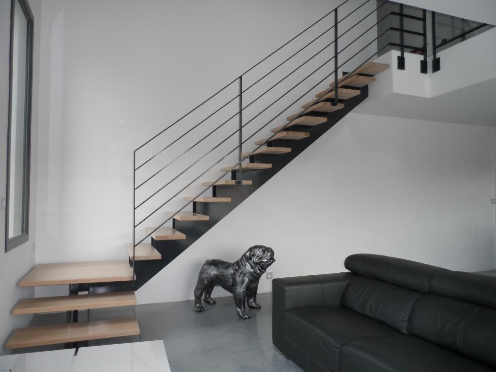 pingl par lyon metal sur escalier metallique lyon metal pinterest escaliers escalier. Black Bedroom Furniture Sets. Home Design Ideas
