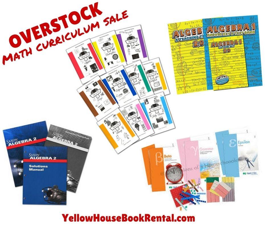 Homeschool math overstock sale life of fred teaching