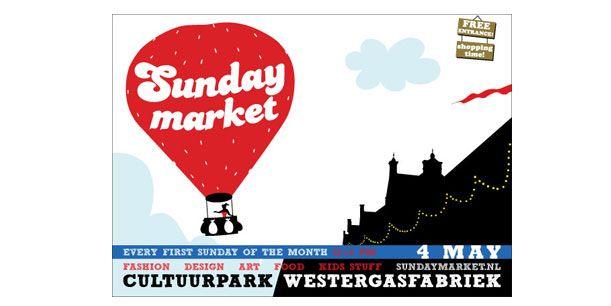 4 mei '14- Westergasfabriek Sunday Market
