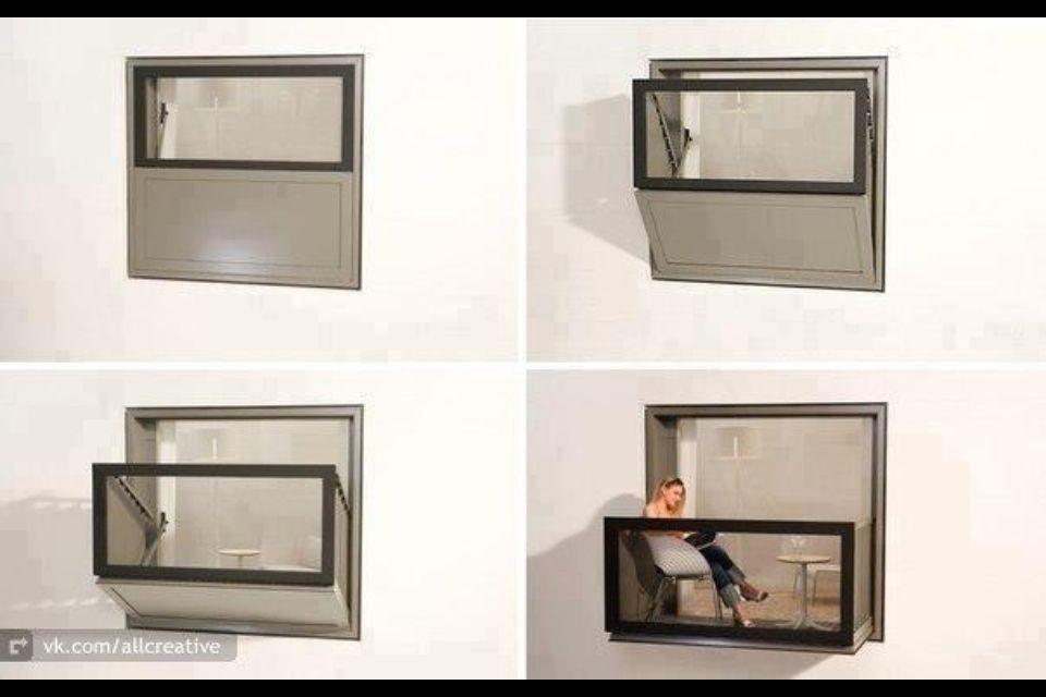 Such a cool idea. Space saver/creator