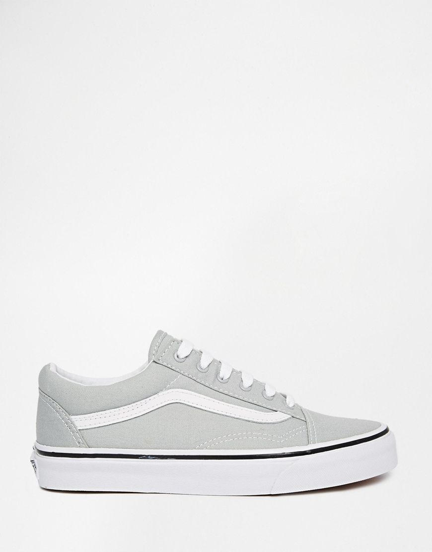 vans old skool high grau