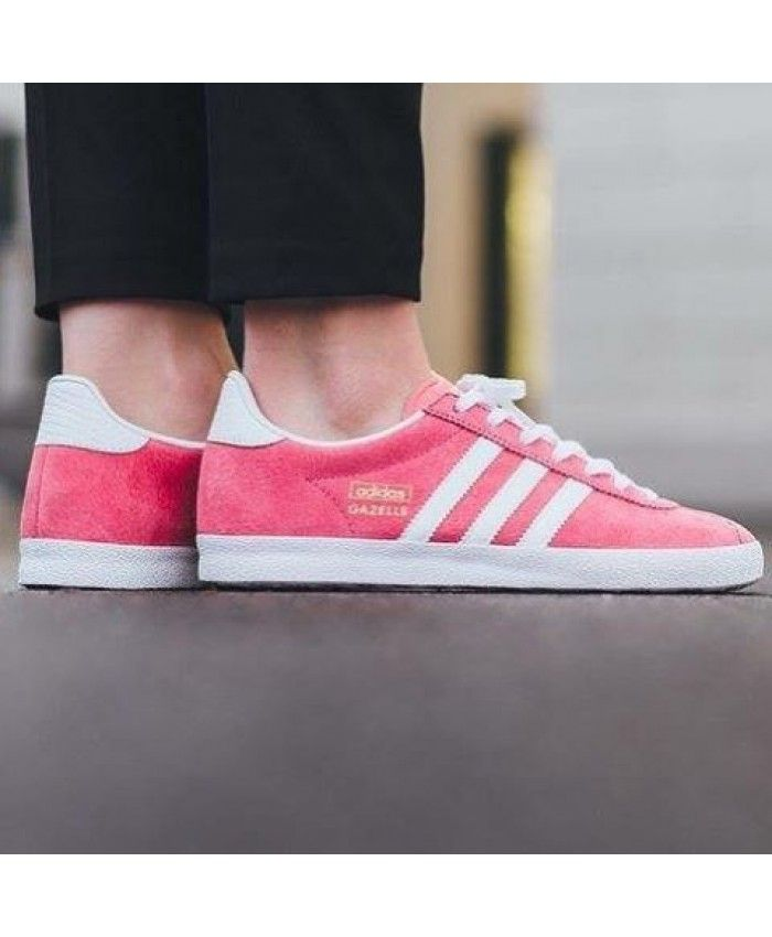 Adidas Gazelle OG Lush Pink Footwear White Gold Metallic