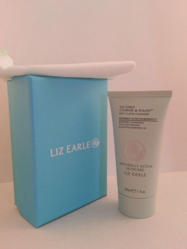 $12.95 + Free Shipping in the US! Liz Earle Cleanse & Polish Hot Cloth Cleanser 1 oz Mini with Muslin Cloth NEW  #LizEarle