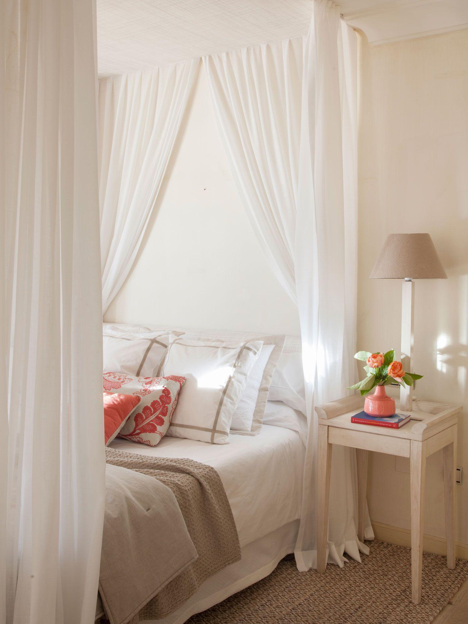 Detalle de cama con dosel | Pinterest | Camas con dosel, Dormitorio ...