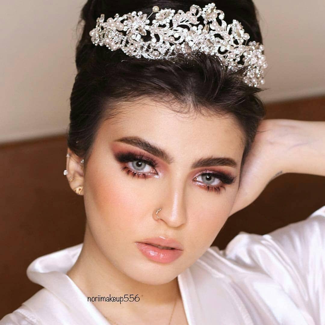 Pin By Tasneem On Makeup Wedding Makeup Bushy Eyebrows Makeup