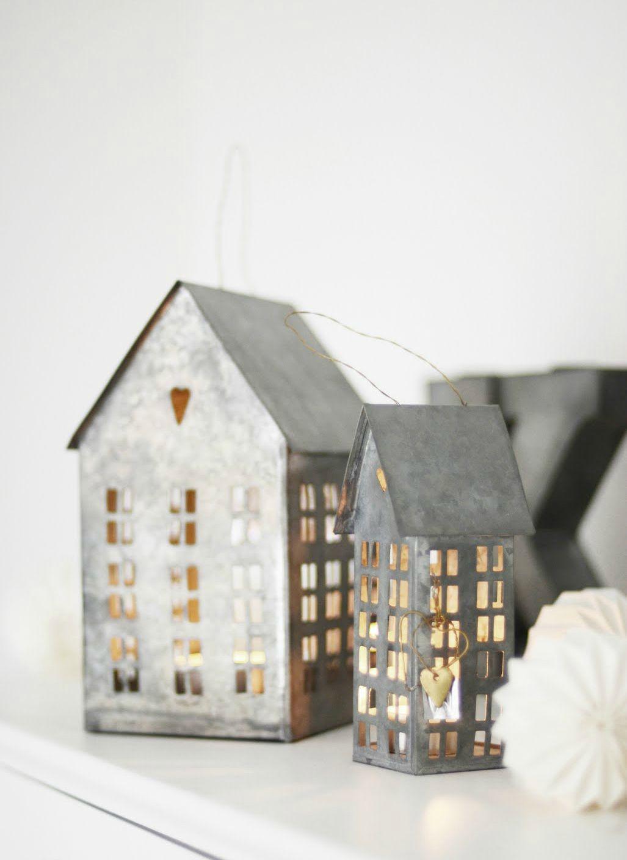 the clean prism mitt vita hus mini zinc houses tealight candle ...