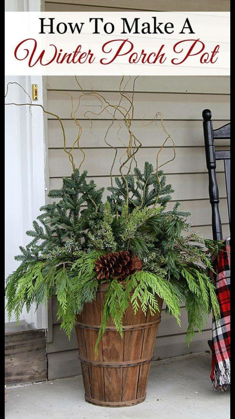 winter outdoor decorating ideas