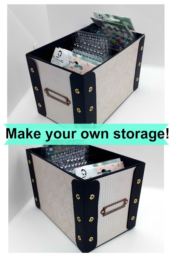 3d Create Your Own Room: Make Your Own Easy And Strong Storage Boxes For Your