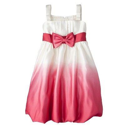 5f27cf7b3 Target : Infant Toddler Girls' Satin Dress - Ivory/Red : Image Zoom ...