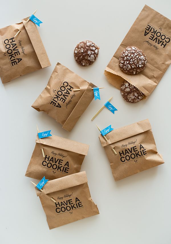 Let\u0027s Make Some Cookie Gifts! Cookie favors, Favors and Envelopes - creative packaging ideas