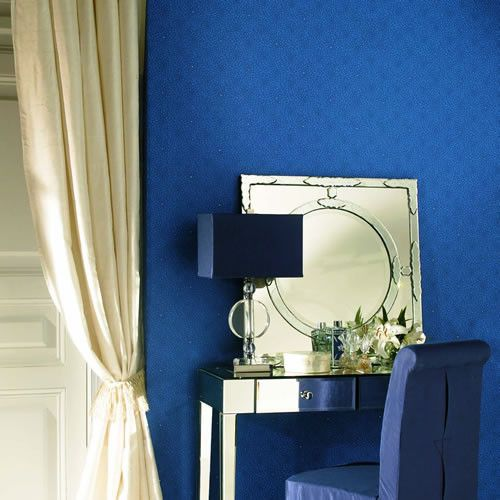 Dahlia Blossom Wallpaper design by Stacy Garcia for York Wallcoverings