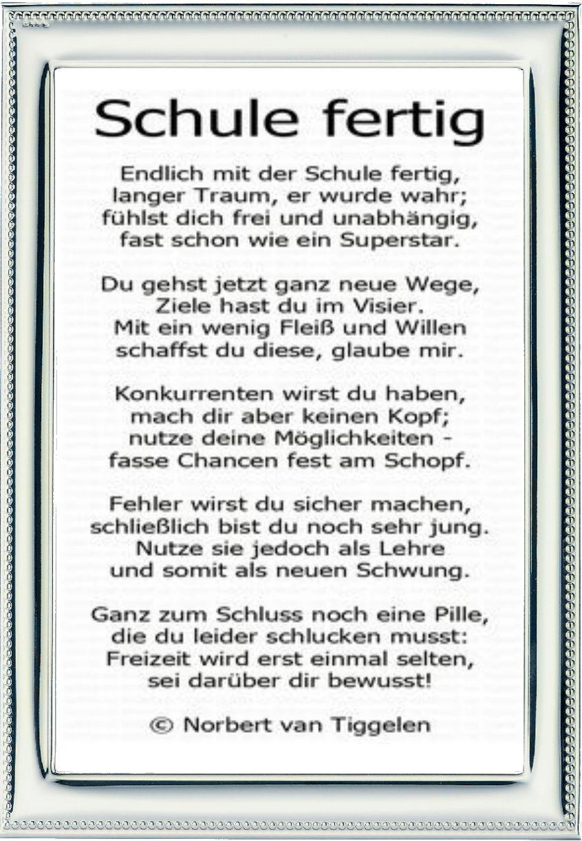 Pin De Nadin Eimann En Spruch Schulabschluss Sprüche