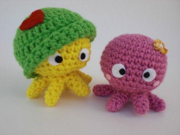 Easy Amigurumi Crochet Patterns : Kawaii octopus kawaii my brains out amigurumi