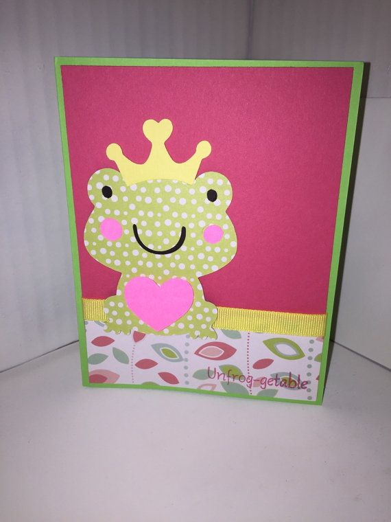 Unfrog-getable Pun Valentines Card by CJGDesigns0912 on Etsy