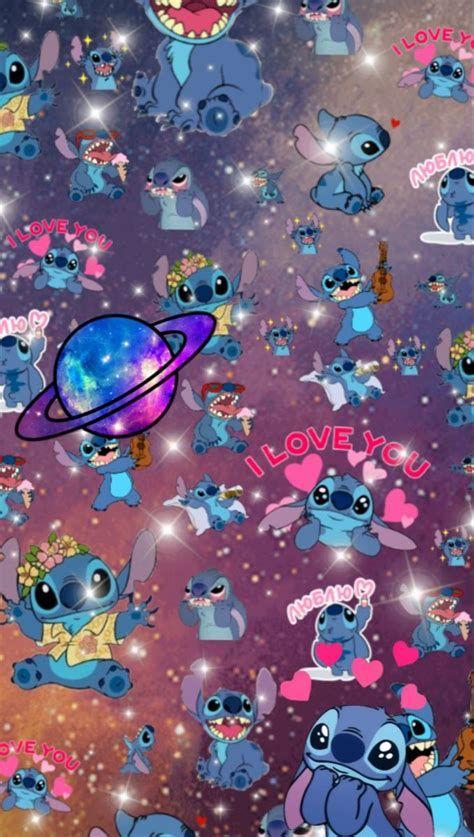 Stitch Themed Wallpaper! | Iphone Wallpaper Girly, Cartoon